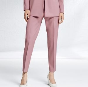 Hugo Boss Harile-3 Slim-Fit Stretch Ankle Trousers